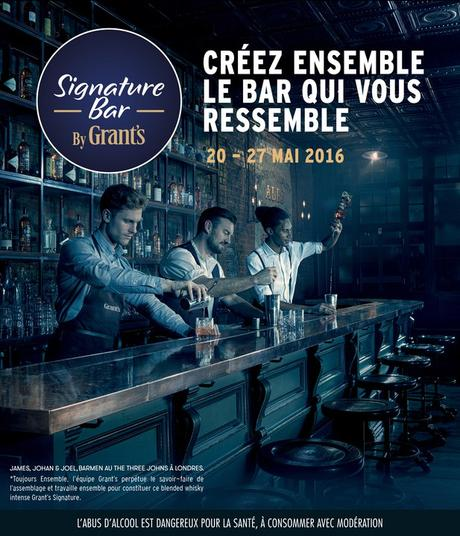 NOUVELLE ÉDITION DU SIGNATURE BAR by GRANT'S