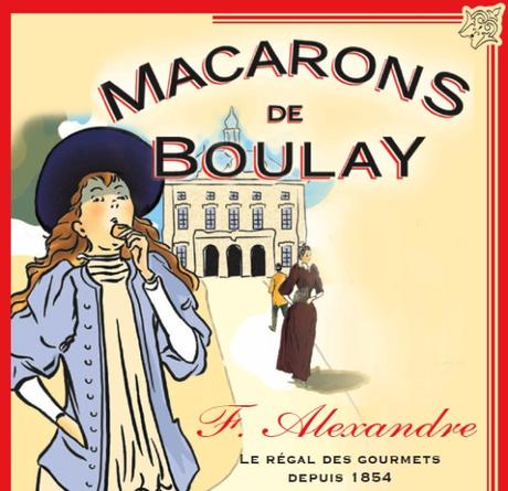 affiche Macarons Boulay
