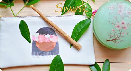 le siwak..... une douceur pour les dents...mais bien plus qu'une simple brosse a dents