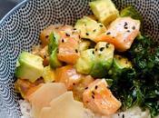 Poke Bowl saumon colza Alvenat