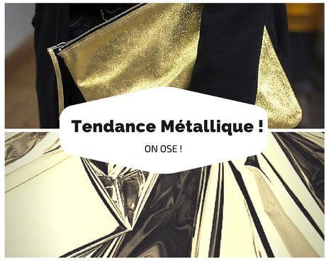 tendance metallique mode