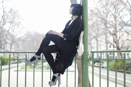 outfit of the day black