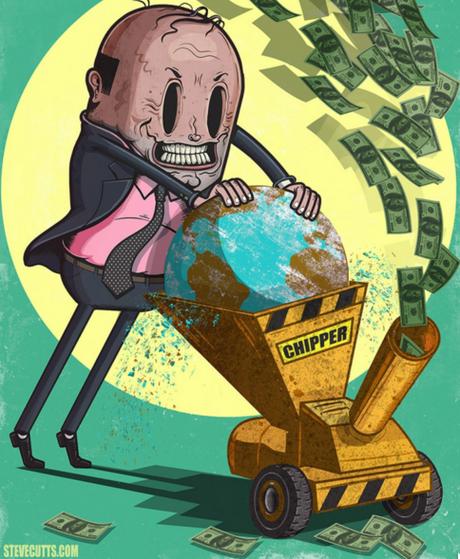15 illustrations aussi sombres que dérangeantes qui dénoncent les problèmes de notre société