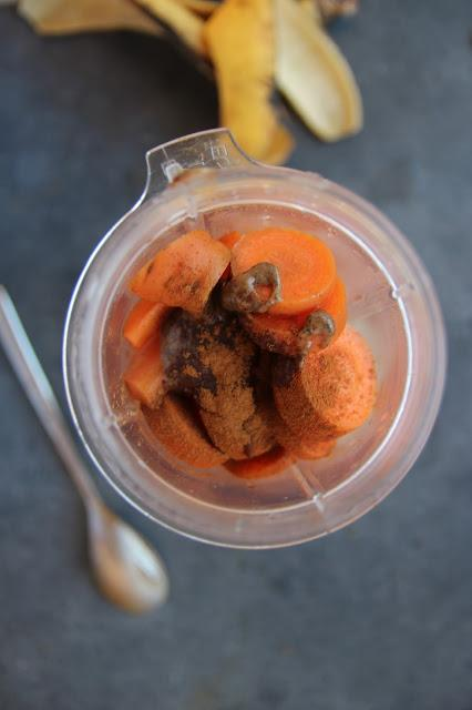 Smoothie facon carrot cake/ Karottenkuchen Smoothie
