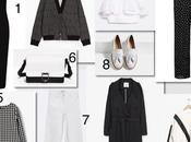 Shopping list: noir blanc