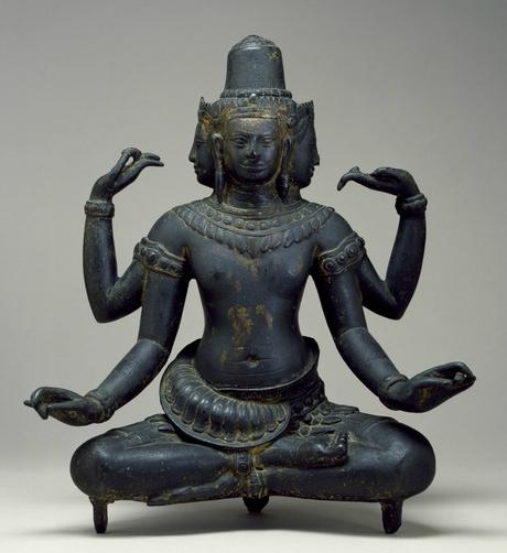 Cambodian_-_The_Hindu_God_Brahma_-_Walters_542734