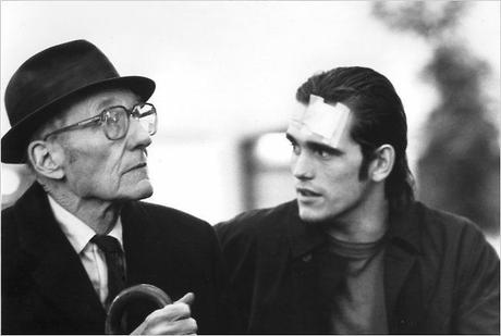 William S. Burroughs and Matt Dillon in Drugstore Cowboy by Gus Van Sant (1987) © DR