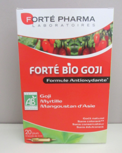 blog beaute nantes forte pharma bio goji antioxydants