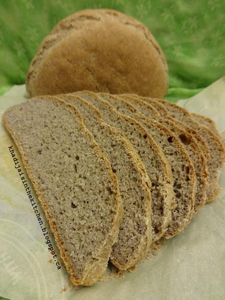 PAIN DE LA SEMAINE: PAIN À LA FARINE DE SEIGLE / BREAD OF THE WEEK: RYE BREAD / PAN DE LA SEMANA: PAN CON CENTENO / خبز الاسبوع : خبز الشيلم