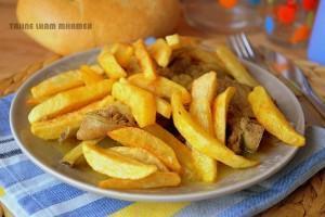 Lham mhamer, recette algérienne