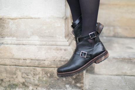 boots cuir