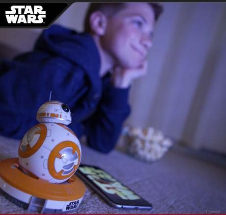 Faites réagir votre BB-8 devant Star Wars VII, le réveil de la force