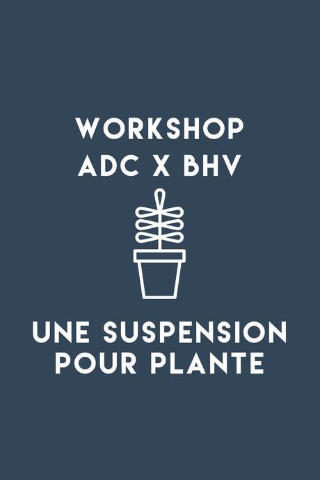 Le mois du DIY au BHV Marais, les ateliers créatifs d'ADC