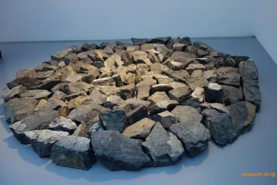 Richard LONG, Small Alpine Circle, 1998, Pierre,