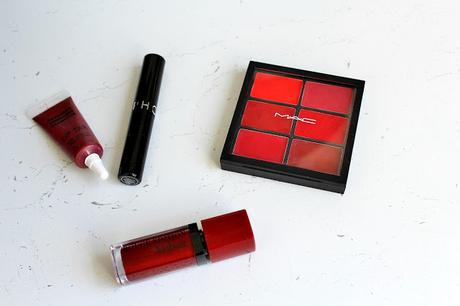 My Top 5 : Red Lipsticks
