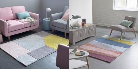 inspirations décoration intérieure scandinave tapis