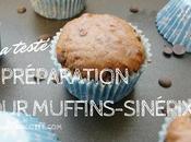 testé muffins chocolat Sinépix