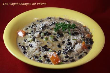 Soupe de haricots noirs et coco (Tanzanie)