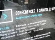 Conférence origines Graffiti York Paris