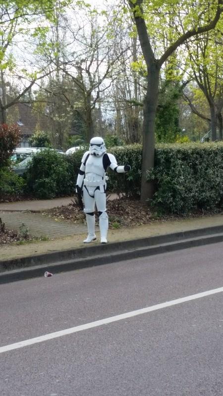 Un stormtrooper sans vaisseau