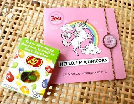 La box des Bees Avril 2016 - Hello i'm a unicorn