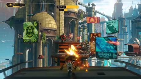 Test Ratchet & Clank PS4 screenshot5