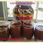 Crème dessert au Nutella au thermomix - La cuisine de poupoule