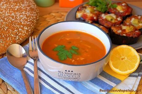 Chorba frik soupe algérienne pour Ramadan