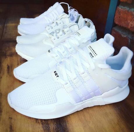 adidas eqt femme blanche