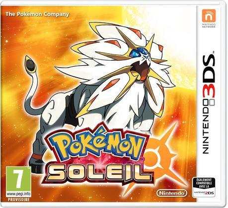 Jaquette packshopt Pokémon Soleil