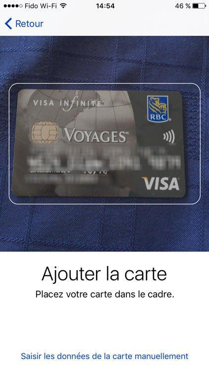 Apple Pay est officielle au Canada!