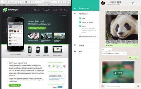 WhatsApp pour Mac est disponible en téléchargement