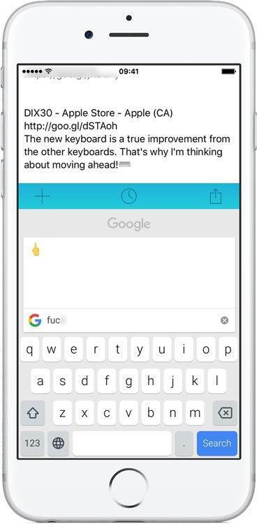 Gboard le nouveau clavier de Google pour la recherche et les GIF