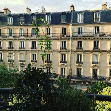 La vue d'en face avec mon petit jasmin  (c) D'une île à Paris