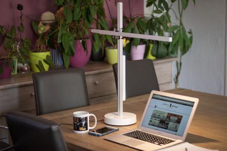 Lampe de bureau dyson csys : test & avis paperblog
