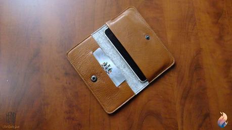 Handwers: le fabuleux portefeuille en cuir et laine pour iPhone 6s