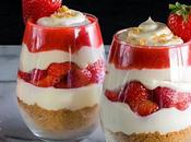 Dessert Léger Rapide Découvrez parfait fraise