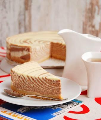 Comment Faire Un Bon Recette Dessert Rapide Cheesecake Zebre A