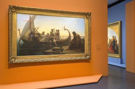 Exposition Charles Gleyre Le romantique repenti - Musée d'Orsay Paris - Scenographie (c) Photo musee d'Orsay Sophie Boegly