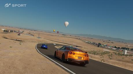 Gran Turismo Sport Course désert