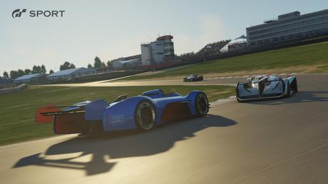 Gran Turismo Sport course vitesse