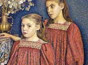 l'art nous pas: Georges Lemmen, sœurs Serruys, 1894.