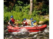 Mini rafting Jacques Cartier SEPAQ