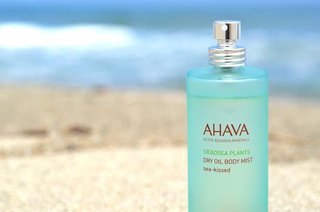 Ahava, l'eau de la mer morte pour mon corps