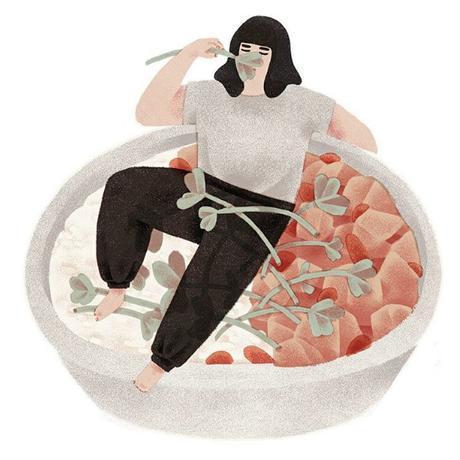 Les illustrations de Jeannie Phan