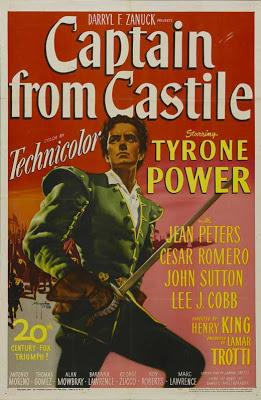 Capitaine de Castille - Captain from Castile, Henry King (1947)