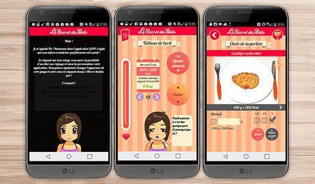 secret du Poid application android santé bien être sport LG