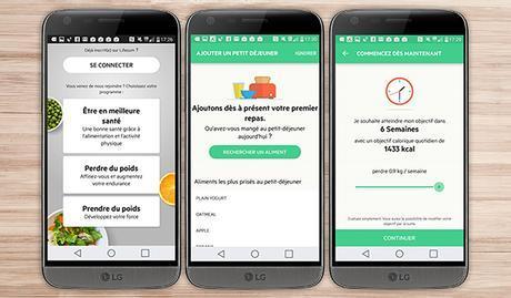 lifesum application android santé bien être sport LG