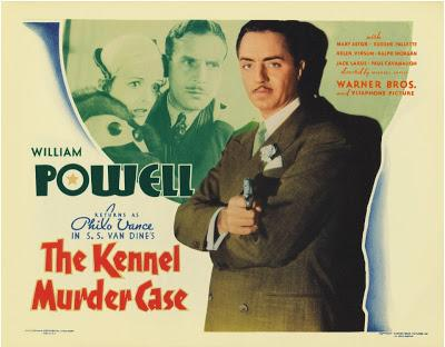Le Mystère de la chambre close - The Kennel Murder Case, Michael Curtiz (1933)