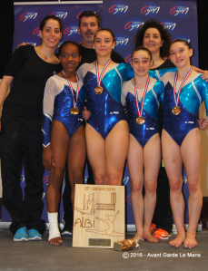 CHAMPION DE FRANCE NATIONAL A3 - ALBI MAI 2016